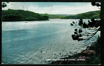 Early Postcard -  River Blackwater at Youghal - County Cork Ireland Eire