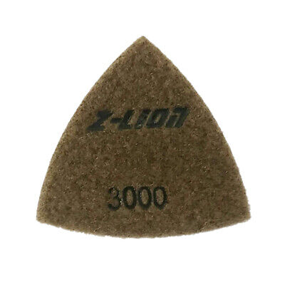 Electroplated Triangular Polishing Diamond Oscillating Pads 80mm, 93mm