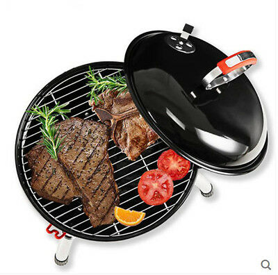 Modern Apple Creative Household Outdoor Stainless Steel Portable Grill BBQ *