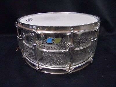 Ludwig Blue and Olive Badge 14x6.5 Snare Drum