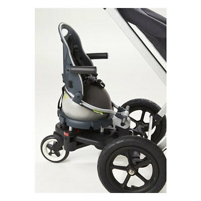 Additional seat with board adapter Perle Grey 10000008+20000015 Buggypod