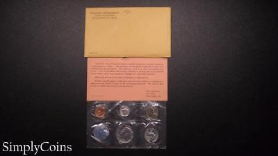 1964 Proof Set ~ Original Envelope With COA ~ US Mint Silver Coin Lot SKU-669