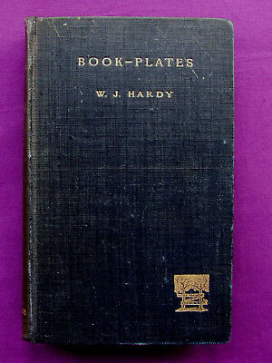 Letterpress printed BOOK-PLATES W. J. Hardy 1897 Second Edition Adana Interest