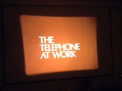 16mm Film The Telephone At Work Nice Colour 800ft Sound