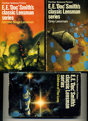 E. E. Doc Smith the complete Lensman series and 3 Lord Tedric books