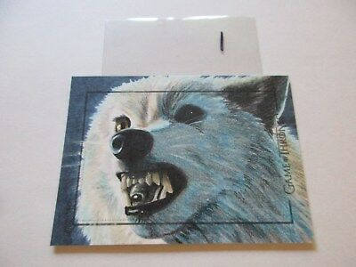 Game of Thrones Valyrian Steel Color Sketch Card by Kristen Allen - 01