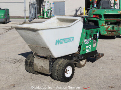 2012 Multiquip MQ WBH-16F Ride On Self Propelled Concrete Buggy Whiteman Honda