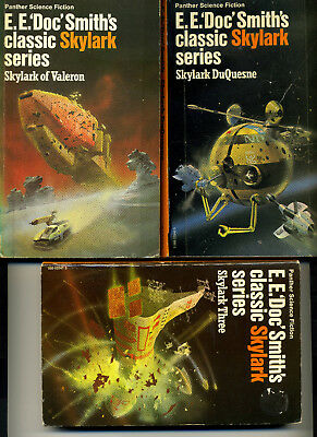E. E. Doc Smith the complete Skylark, Subspace series and 3 novels