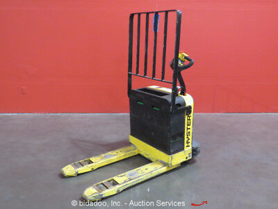 Hyster W40Z 4K Industrial Warehouse Electric Pallet Jack Material Lift Truck