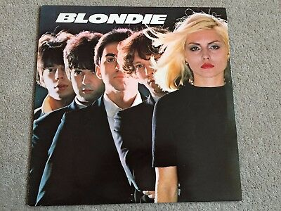 "Blondie S/T Self Titled 12"" Vinyl Original UK LP 1977 Chrysalis Rip Her Shreds"