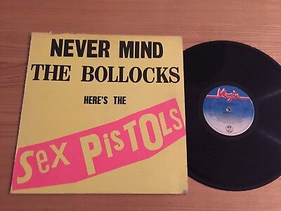 The Sex Pistols ..never Mind The Bollocks...no Track Listing Album Virgin V2086