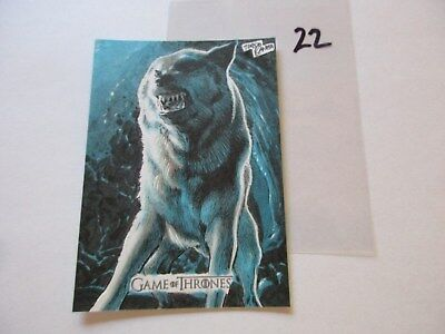 Game of Thrones Valyrian Steel Color Sketch Card by Tirso Llaneta - 22