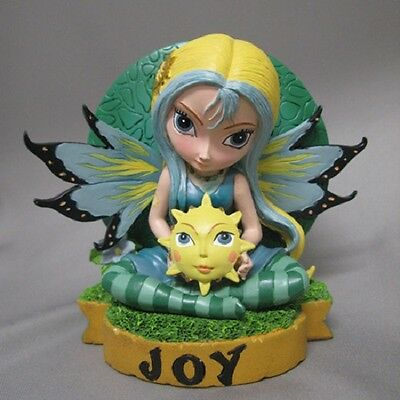 Joy   Fairy Figurine - Fairies Virtues Collection  - Jasmine Becket Griffith