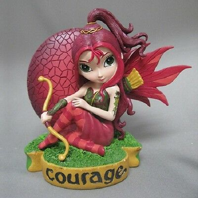 Courage Fairy Figurine - Fairies Virtues Collection  - Jasmine Becket Griffith
