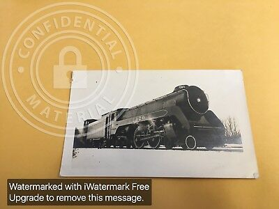 RAILROAD PHOTO CANADIAN PACIFIC STEAM 4-4-4 # 2920 P-1-a AT  OSHAWA , ONT 1938