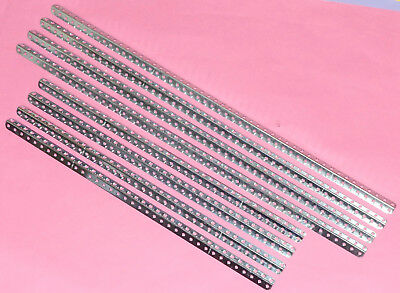 4 x 18.5 & 4 x 24.5in Meccano Angle Girders Zinc Plated. Appear to be unused.