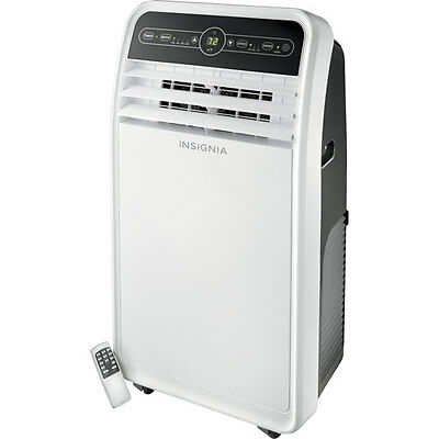 Insignia Portable Air Conditioner - 10000 BTU - White/Grey (NS-AC10PWH8)