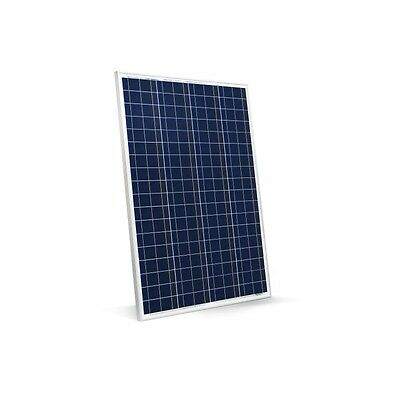 NEW 80W 12v Energy+ Solar Panel - Poly crystalline - MC4 Cables - TUV ISO UK