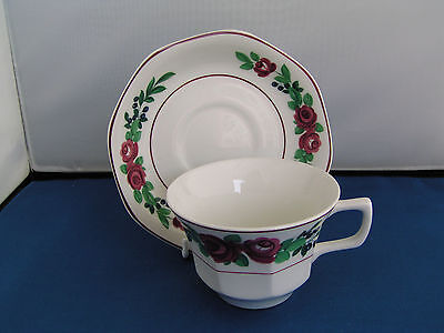 Adams Bridgwater Cup And Saucer.