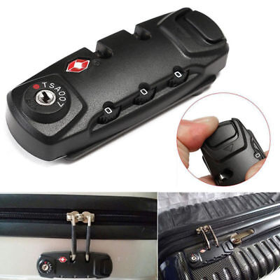 1PC TSA Approved 3 Digit Combination Lock Luggage Travel Safety Password Lock