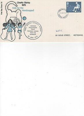 1975  Charity -  Health - Kettering  - Winged Fellowship Trust - Official