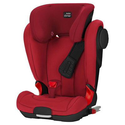 KidFix II XP SICT Black Series Flame Red Britax Römer