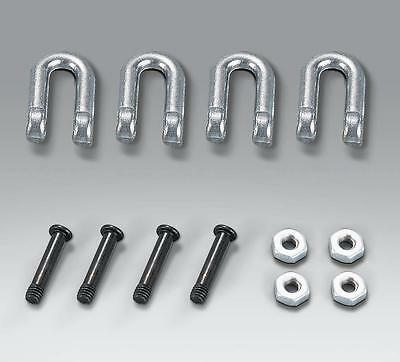 Taigen metal shackle set for 1/16 scale Tiger 1 tank tow shackles 1:16 Tamiya