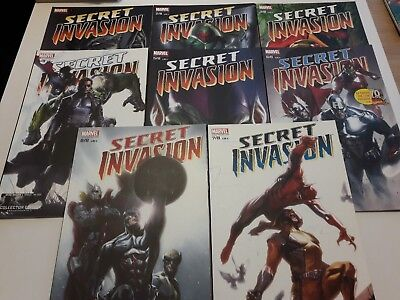 Lot Comics Secret Invasion 8 tomes