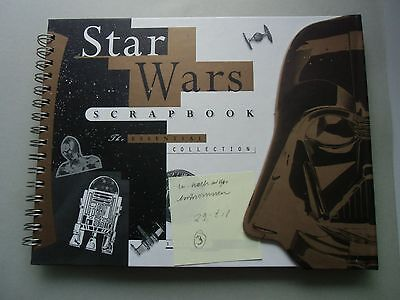Star Wars Scrapbook The Essential Collection Stephen J. Sansweet 1998 Film