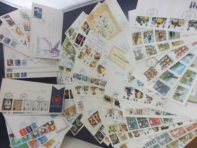 First Day Cover Collection 53 covers from 1969 to 1989  Msc