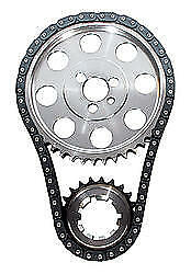 "JP Performance 0.005"" Shorter Double Roller BBC Timing Chain Set P/N 5991T-LB5"