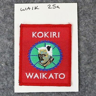 Collection Rare New Zealand District Boy Scout Badges - Kokiri Waikato WAIK 25