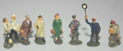 O Scale Train Figures For The Stations Have Eight