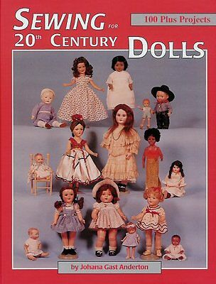 VOL 1 Sewing for 20th Century Dolls 1900-1971 patterns Patsy Tammy Antiq Bisque