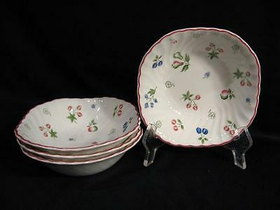 Johnson Brothers England Sweetbriar Square Cereal Bowls - Four