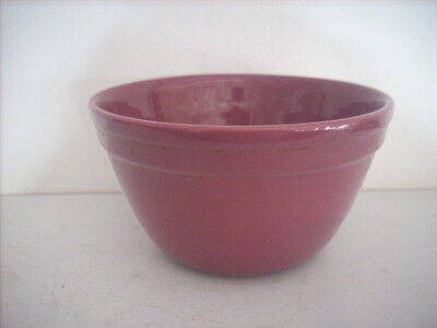 Fowler Ware Plum Coloured.mixing Bowl 17.4 Cm Diameter And Others Available