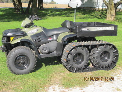 2007,polaris,sportsman 500,6X6,tracks,atv,ATV,4 wheeler,deer season,hunting,