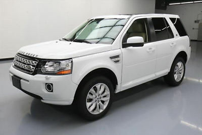 2014 Land Rover LR2  2014 LAND ROVER LR2 AWD HTD LEATHER PANO ROOF NAV 37K #387004 Texas Direct Auto