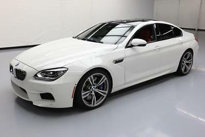 2015 BMW M6  2015 BMW M6 GRAN COUPE EXECUTIVE CARBON ROOF NAV 27K MI #467695 Texas Direct