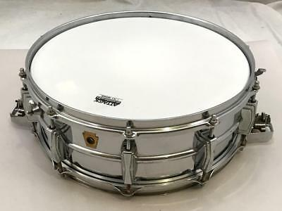 Ludwig 1966 LM410 410 5x14 Supersensitive Snare Drum Keystone badge No RESERVE
