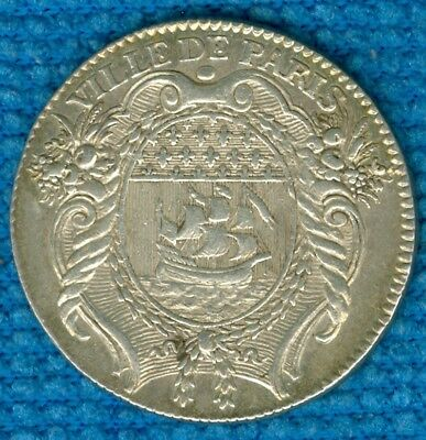 1769 French Silver Jeton for the City of Paris
