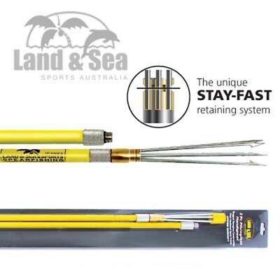 Land & Sea Fibreglass 12Mm Hand Spear - Available In 2 Piece Or 3 Piece Sqsp