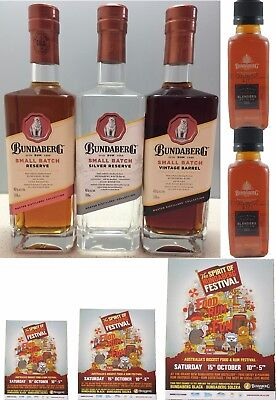 Bundaberg Rum Small Batch Set #885,Silver,Small Batch,Vintage Barrel New Release