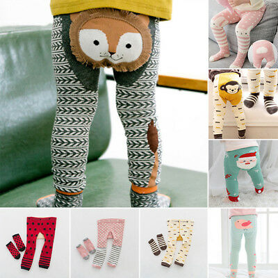 Toddler Baby Kids Girl Cotton Tight Stockings Socks + Pant Set Hosiery Pantyhose