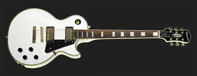EPIPHONE BY GIBSON LES PAUL CUSTOM alpine white pro ,NUOVA!