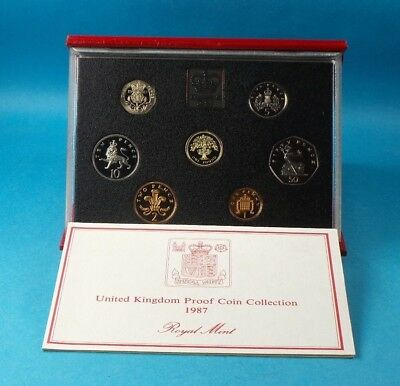 1987 United Kingdom Official Proof Coin Collection