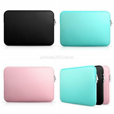 """Laptop Sleeve Notebook Soft Case Bag For MacBook Air/Pro 11""""/13""""/15""""/15.6"""" PC US"""