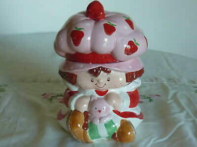 Strawberry Shortcake  Cookie Jar Canister Container Storage