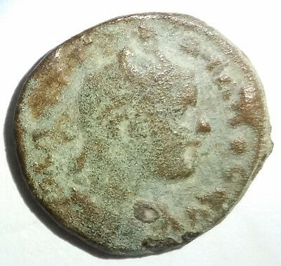 Ancient Roman Empire Bronze Coin Gordian III 238AD-244AD  4 Legionary Standards