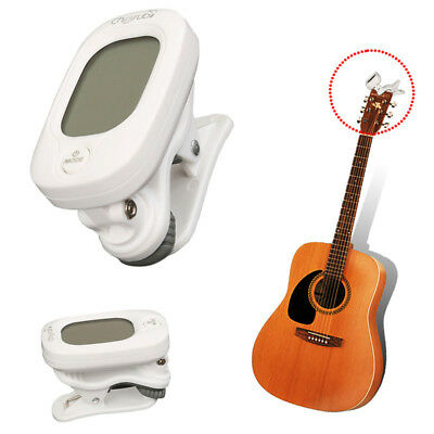Mini Clip on Electronic Digital Guitar Tuner Acoustic Bass Violin Ukulele Tuning